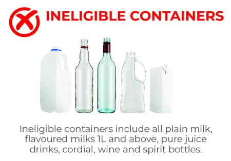 Ineligible Containers